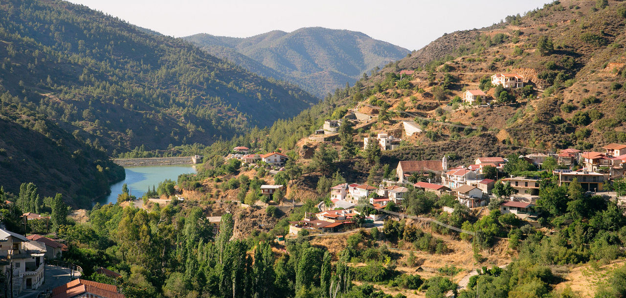 Discover village life in Cyprus through a luxury spa retreat, set into an ancient mountain range.
